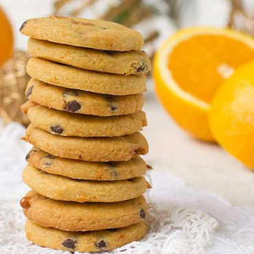 Galletas pasas con whisky y naranja