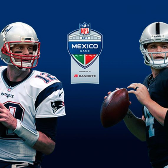 Patriots vs Raiders en México