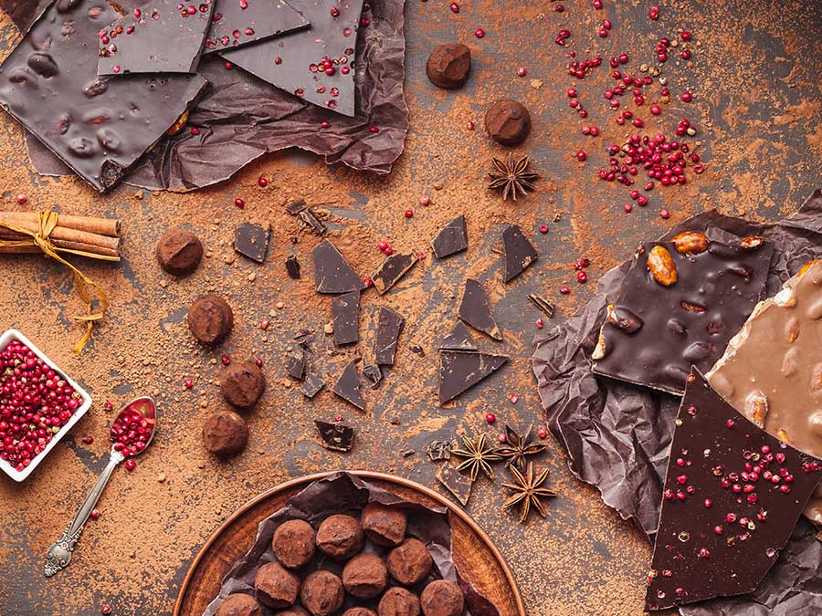 Chocolates de especialidad: datos sobre el chocolate que comparte ASHOCO