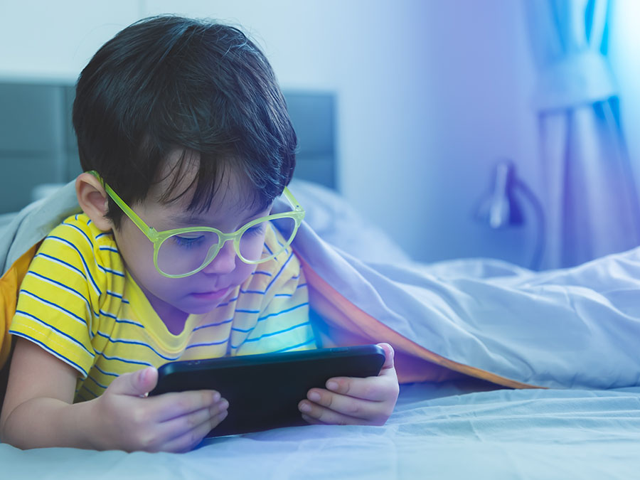 uso de dispositivos moviles en niños