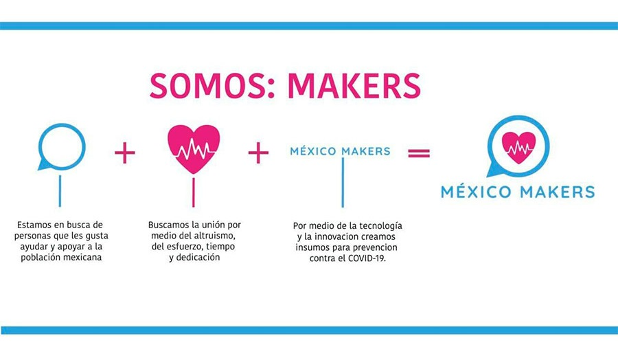 mexico makers mision creacion de caretas